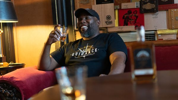 How this whiskey founder uses his brand to unite Black businesses