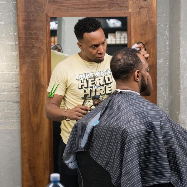 Meet the barber creating a new direction in the men's grooming industry