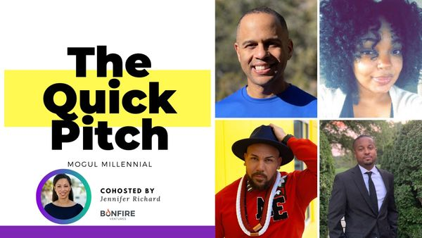 [Watch] Black founders practice their pitch with Jennifer Richard of Bonfire Ventures